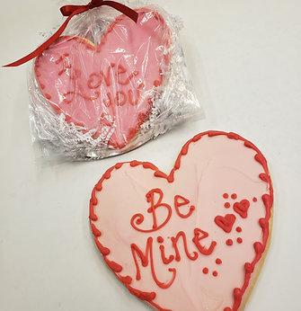 Jumbo Heart Cookie