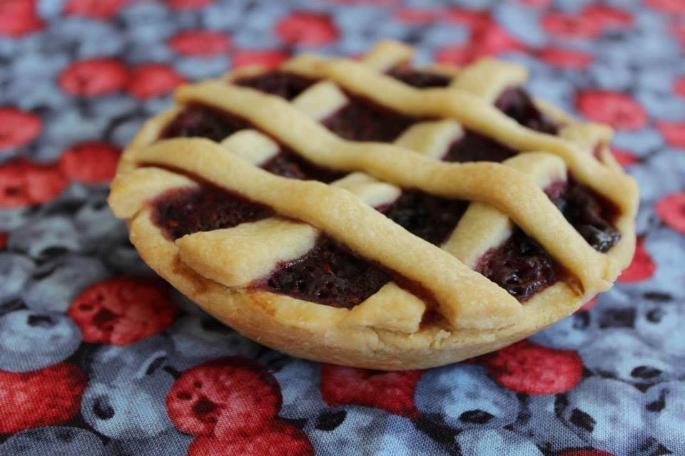 Mini Berry Pie