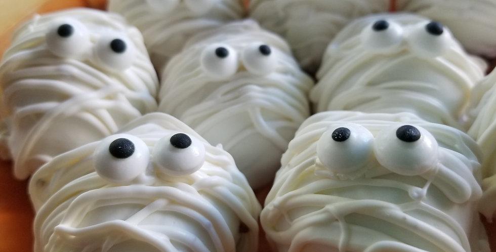 Halloween Mummy Truffles