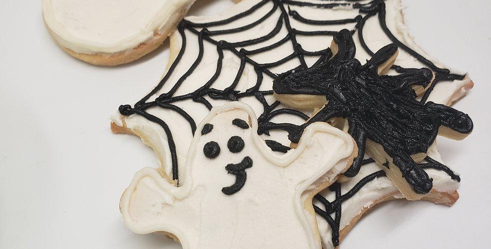 Spiderwebs & Ghosts Cookie Kit