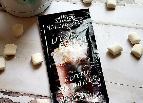 Chocolat chaud crème irlandaise