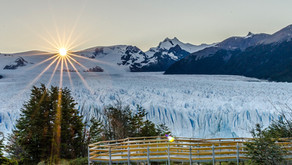 """FIT2019 - El Perito Moreno recibió este domingo el diploma de """"Maravilla Natural Argentina""""."""