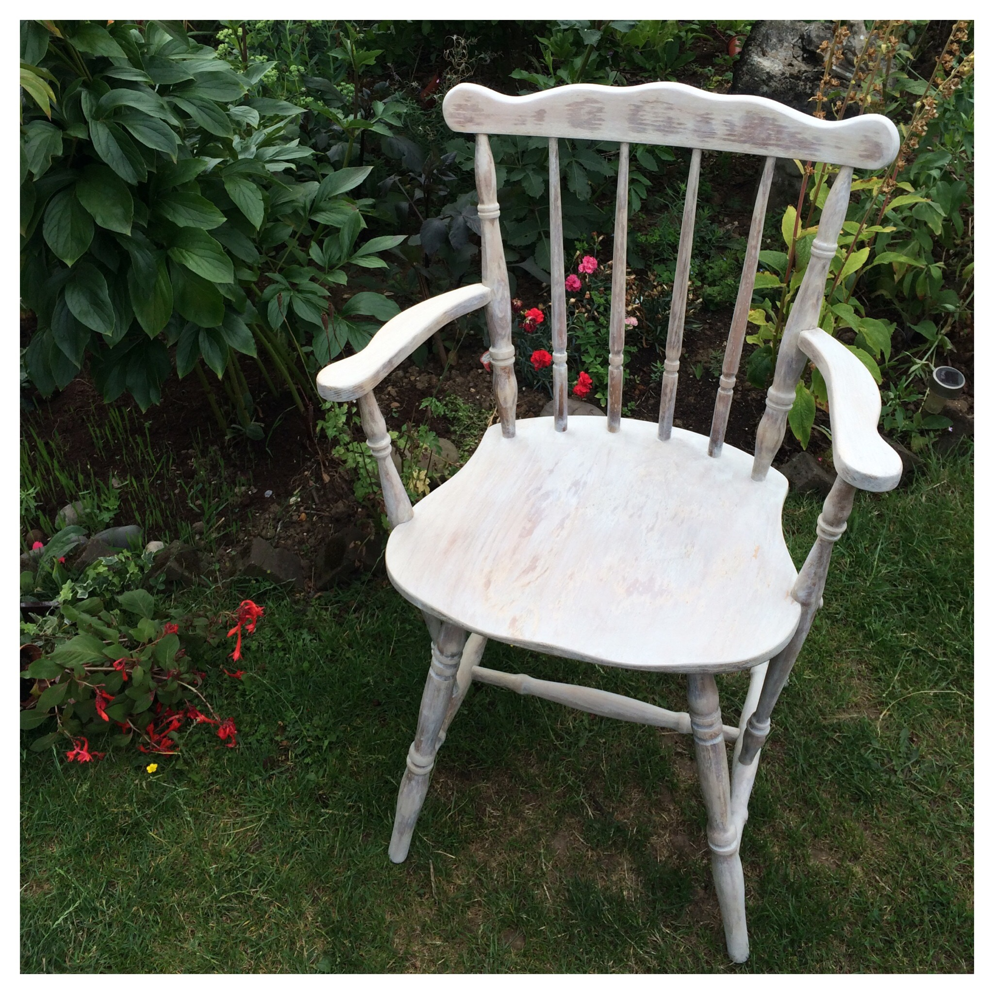 Distressed Painted Ercol Dining