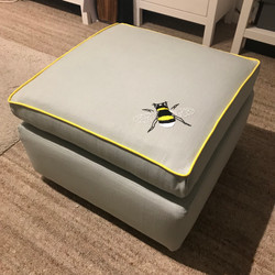 Bee Footstool