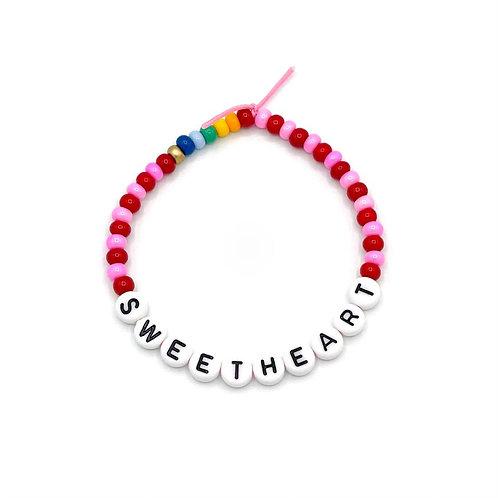 """Armband """"SWEETHEART"""""""