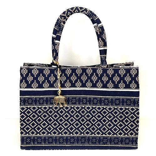 Tasche Anouki navy weiß