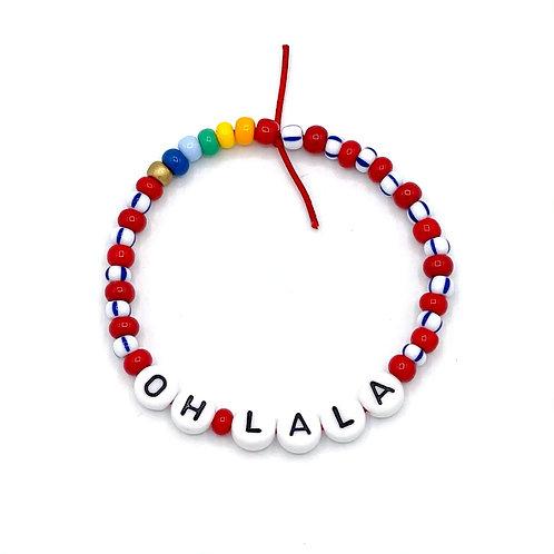 "Armband ""OH LALA"""