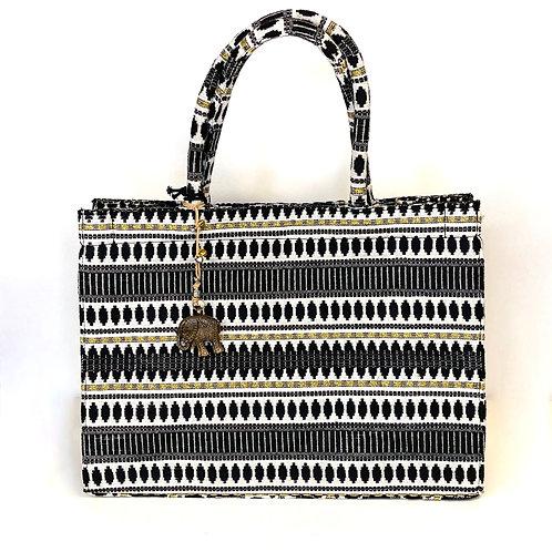 Tasche Anouki schwarz weiß