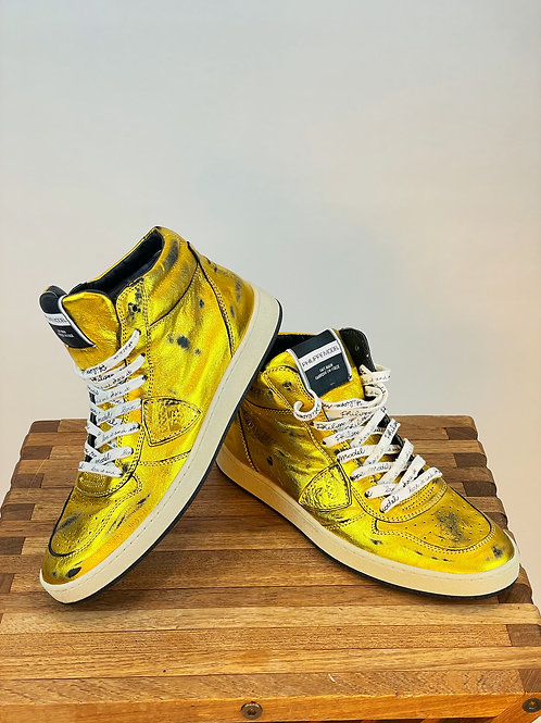 Sneaker gold Philippe Model