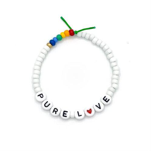 "Armband "" PURE LOVE"""