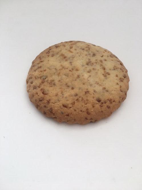 Six praline biscuits