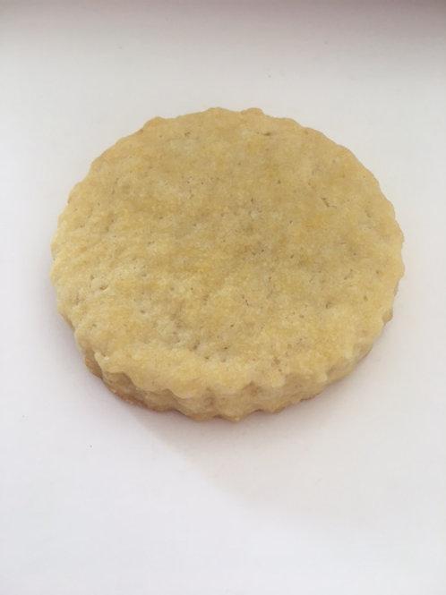Six lemon biscuits (V/GF)