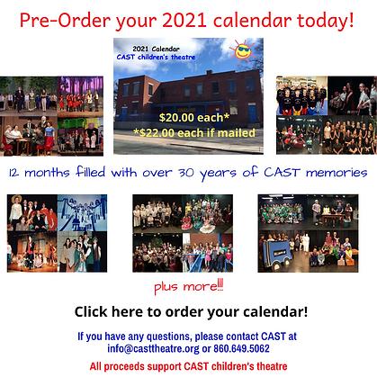 Order your 2021 calendar today! Social M