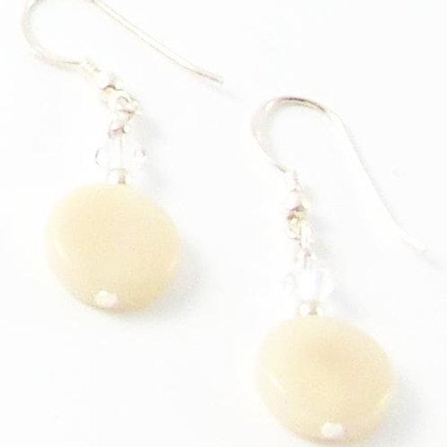 """Elements """"Rose Garden"""" earrings"""