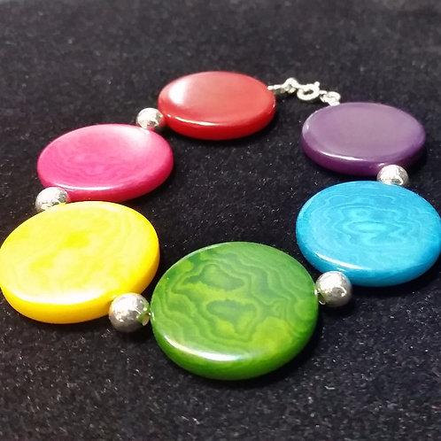 Rainbow bracelet 25mm
