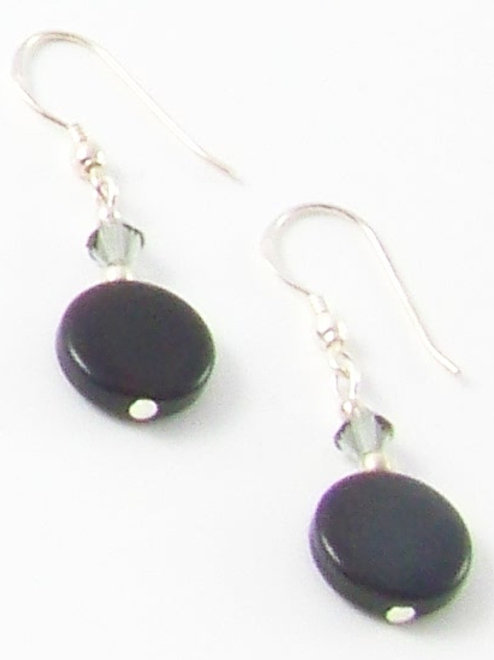 "Elements ""Night"" earrings"