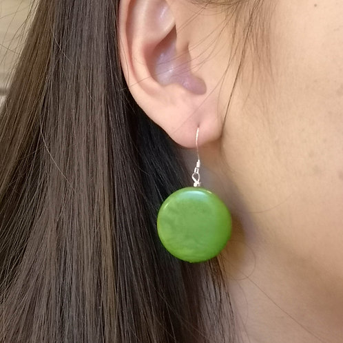 Moon Large earrings