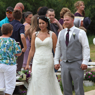 Honored Couple in Eastend