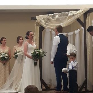 Ceremony in Elkwater