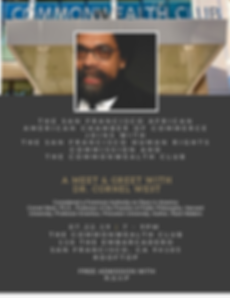 Meet and Greet with Dr. Cornel West - 7-