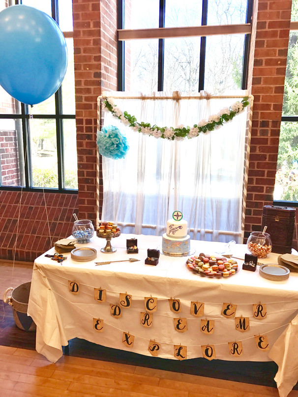 Food And Drink. With A Travel Themed Baby Shower ...