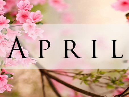 April's From The Pastor