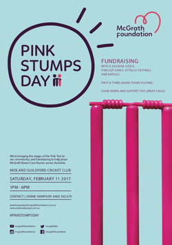 Pink Stumps Day