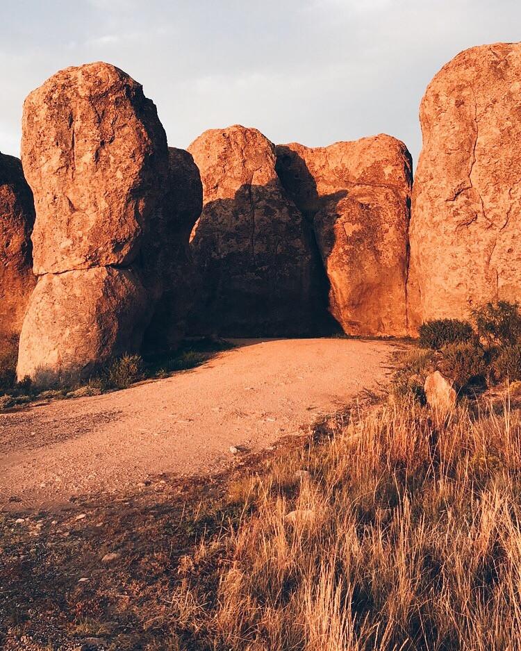 City of Rocks at Sunrise
