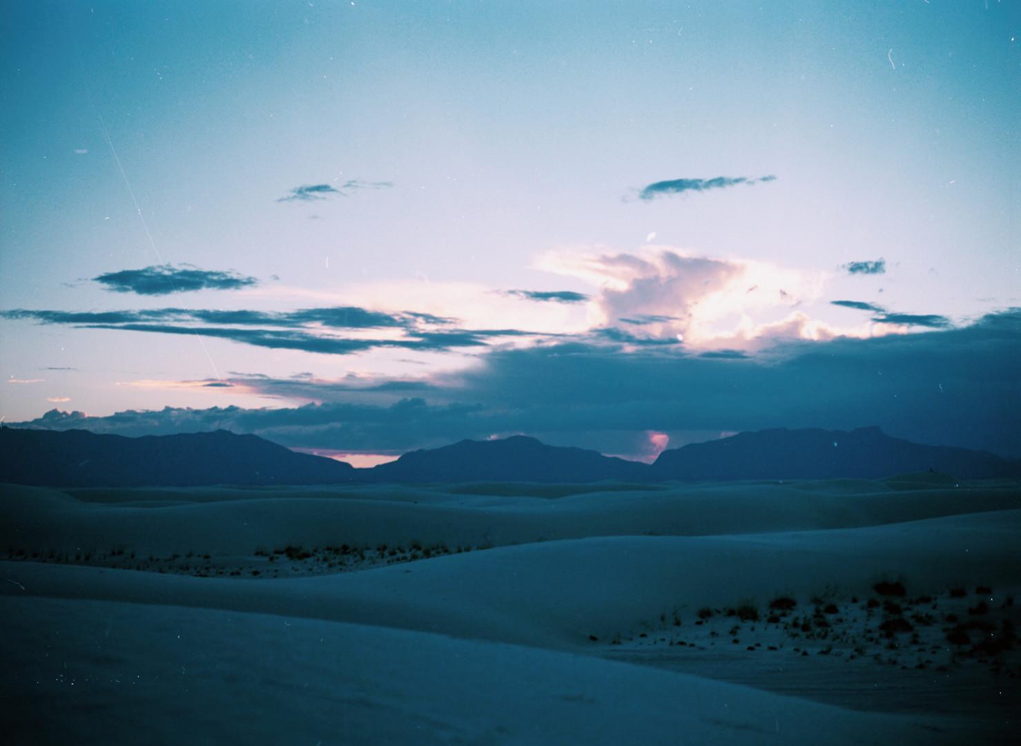 White Sands at Sunset