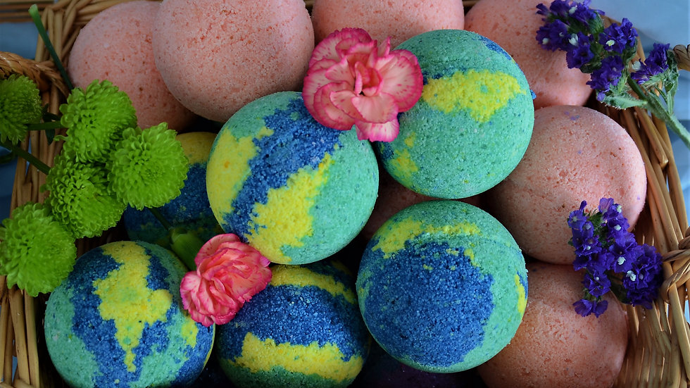 MoJo Mamas BathBomb *SOOTHING SOAK*
