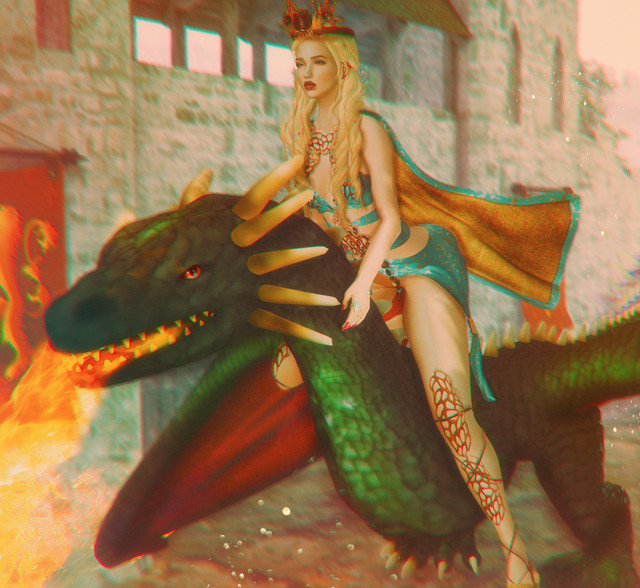 My Art Frame of Daenerys.