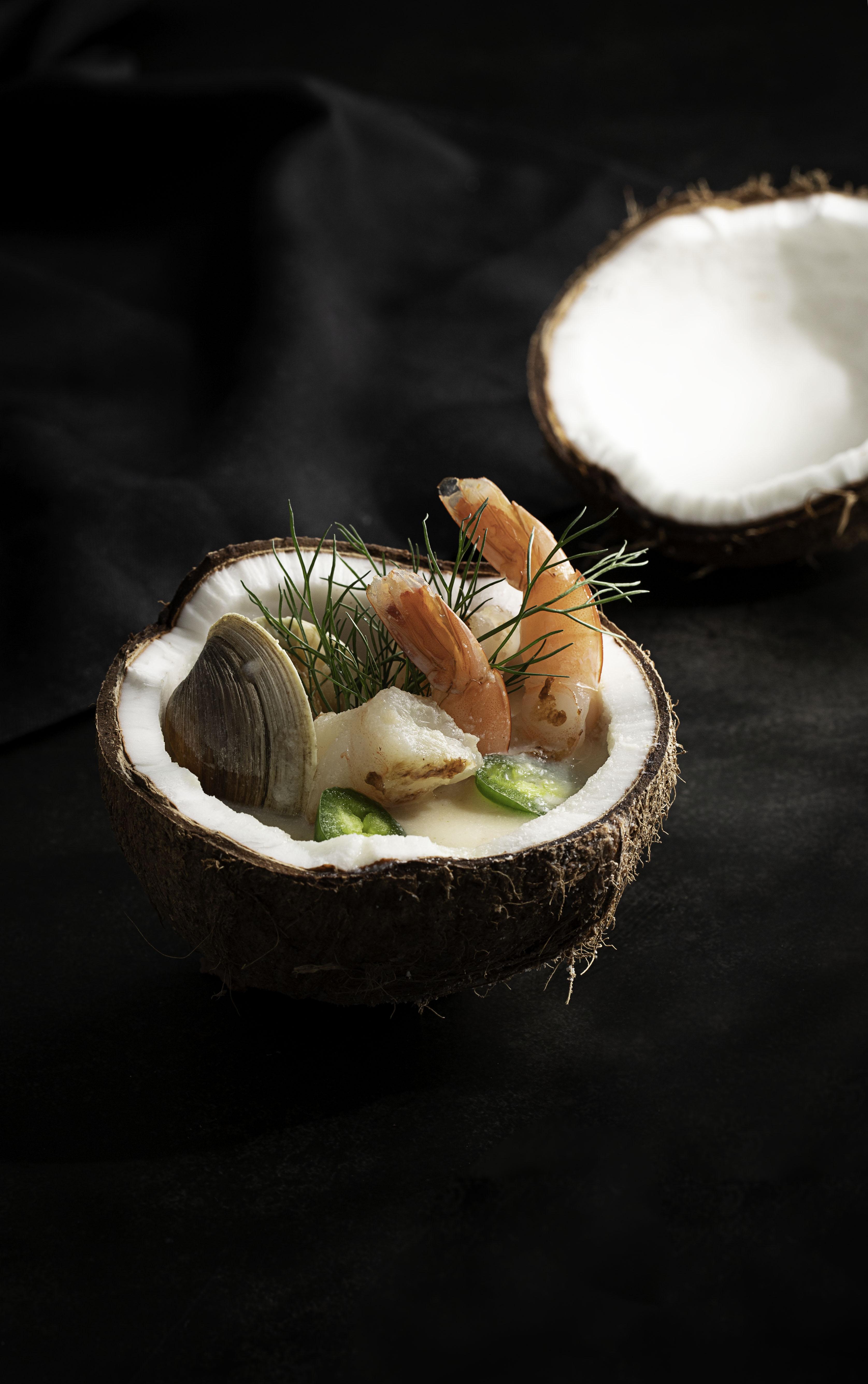 Coconut Seafood Soup C