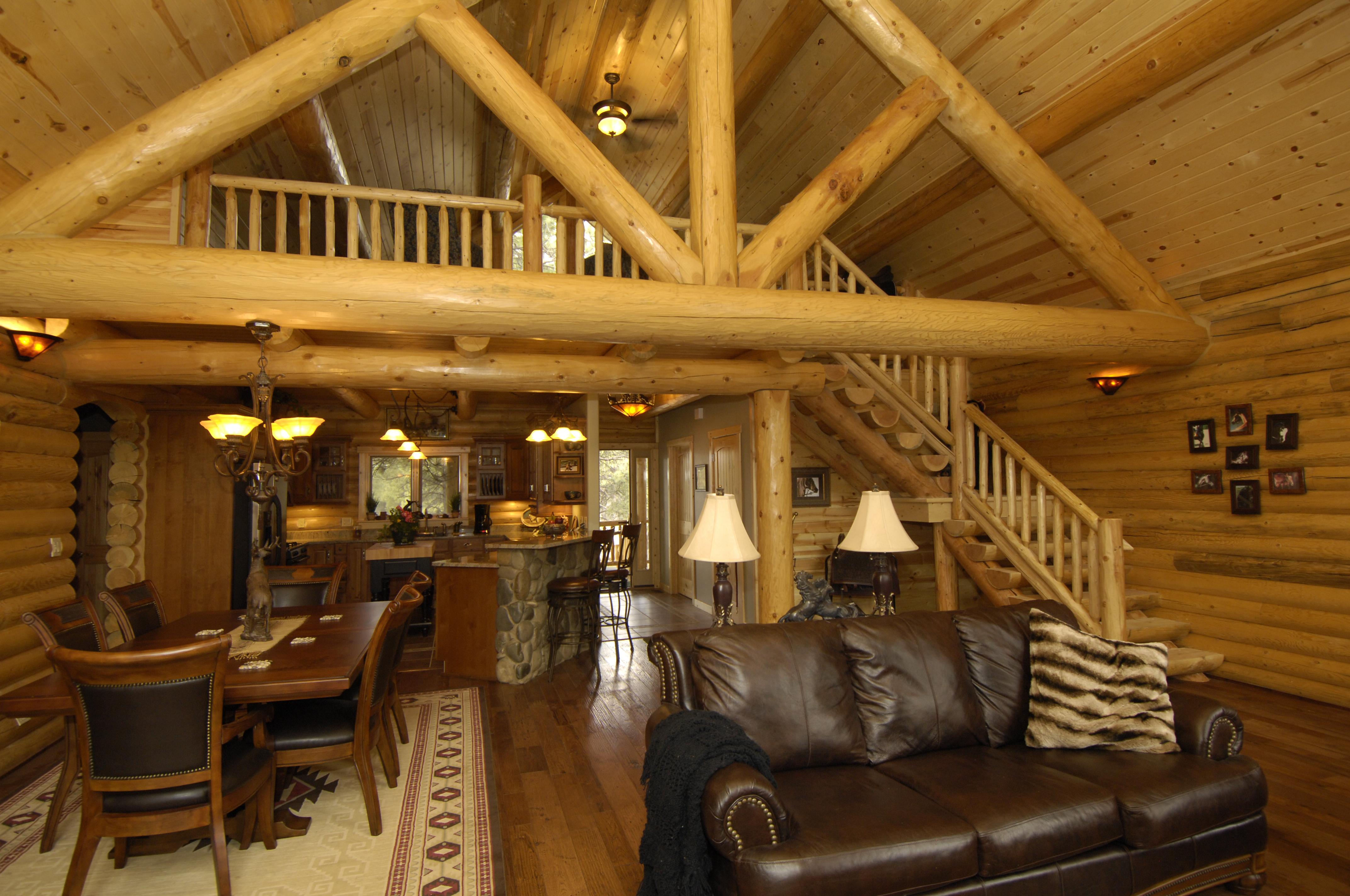 Pagosa Springs Custom Log Home