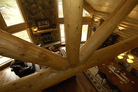 Log Home by Pagosa Springs home builder and general contractor, Silver Creek Custom Homes LLC