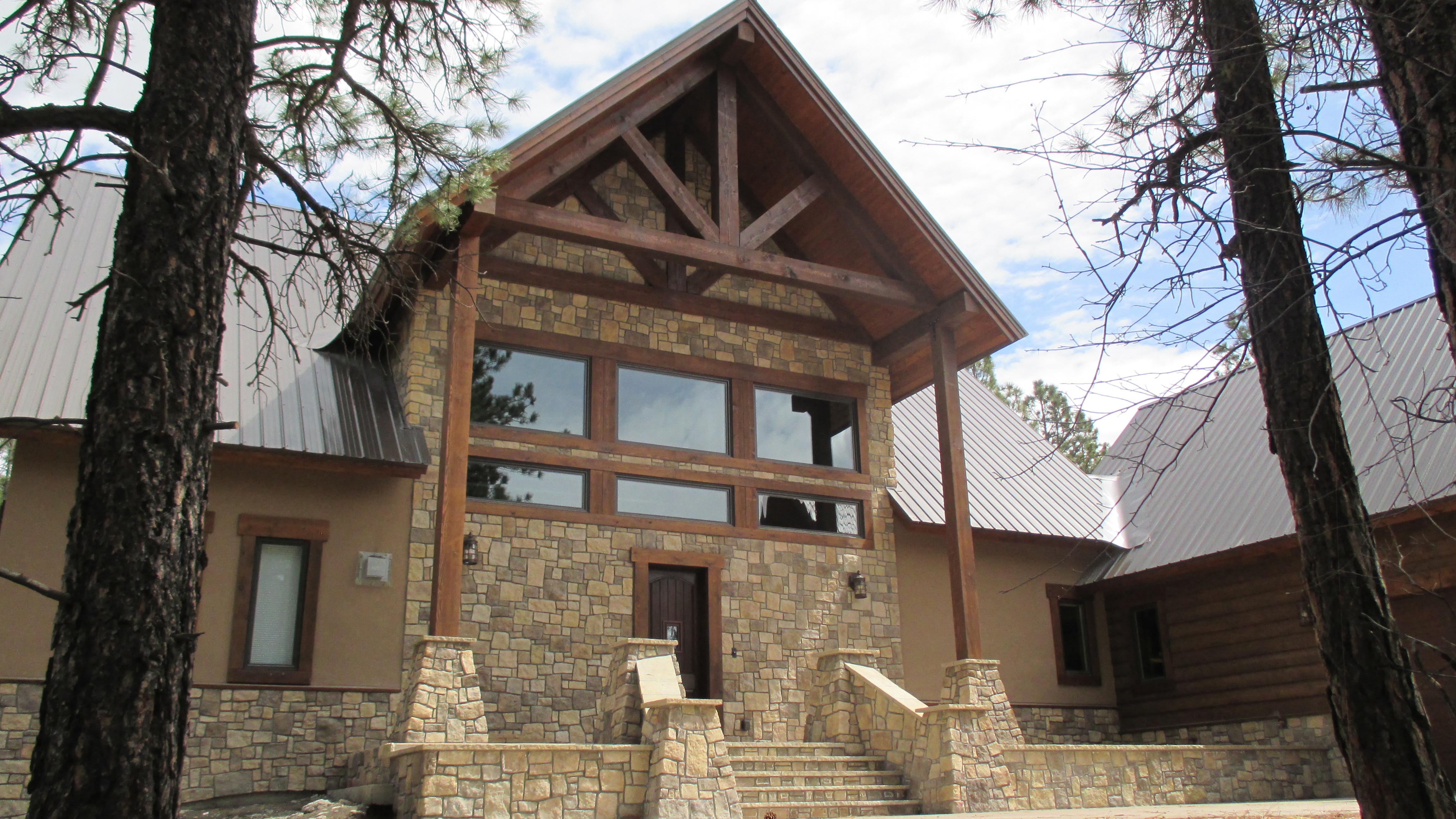 Pagosa Springs Custom Framed Home