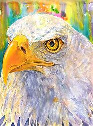 Eagle-Dove by Lynda Finch