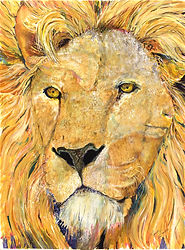 The Lion-The Lamb by Lynda Finch