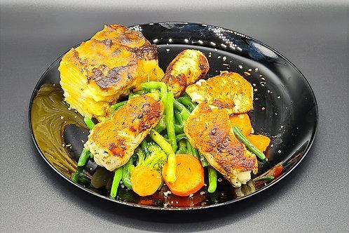 G62 / Hühnerbrustfilets mit Feta