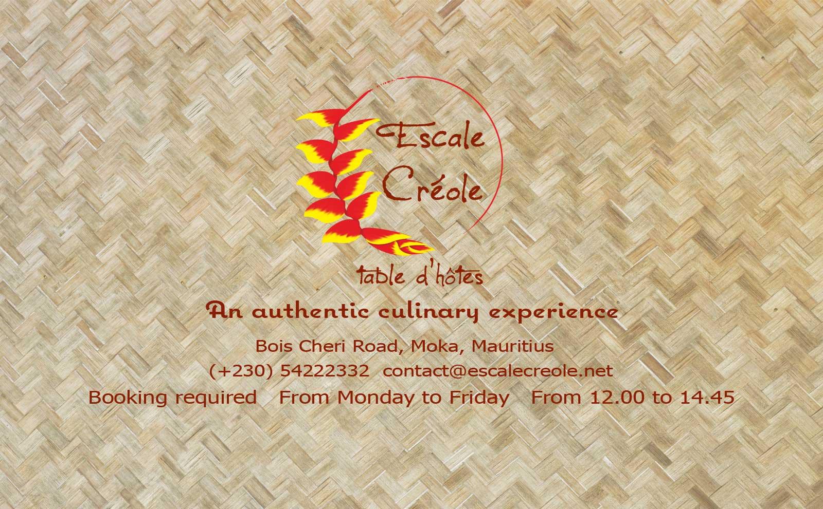 escale creole