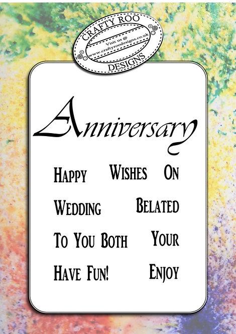 BYO - Anniversary Greeting