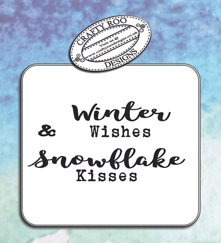 Midi -Snowflake Kisses