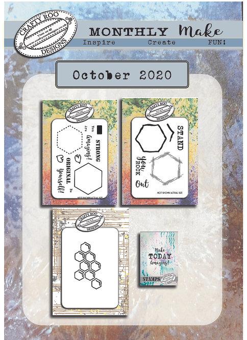October 2020 Full Stamp Set