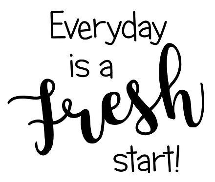 Frame it's  - Fresh Start