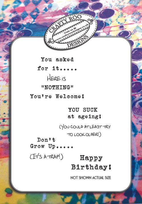 Cheeky Birthday Greetings