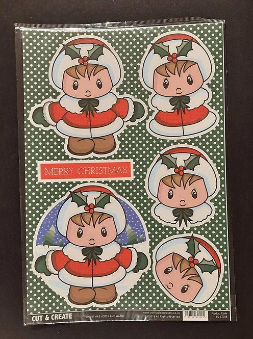 Christmas - Topper/Backing Paper Packs - 3 packs £1.50