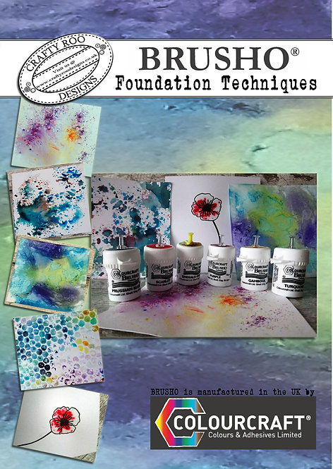 Brusho Foundation Booklet