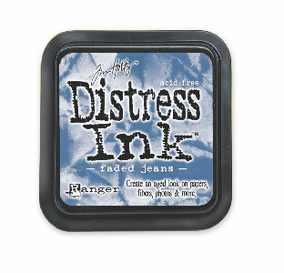Faded Jeans Distress Ink