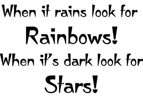 Mini - Look for Rainbows