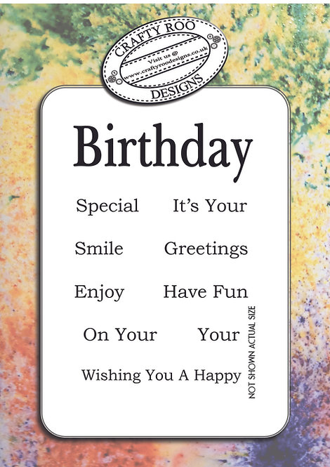 Birthday - Special