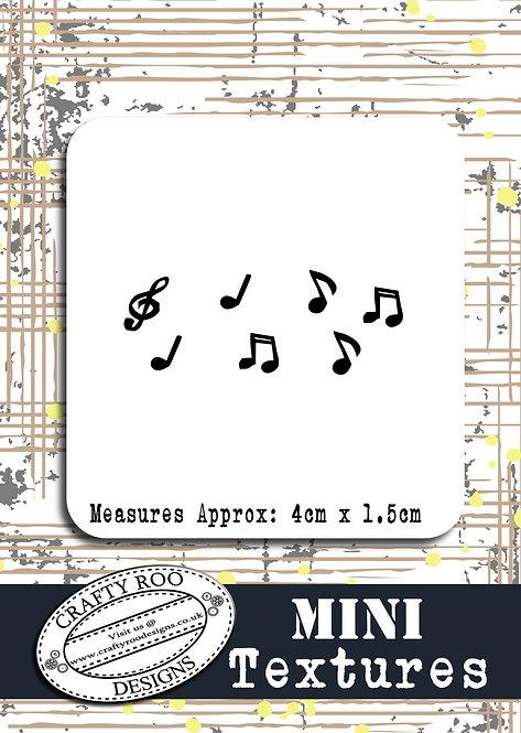 Mini Texture - Music Notes
